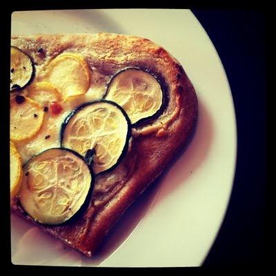 Lemon Zucchini Goat Cheese Pizza | Favorite Recipes | Pinterest