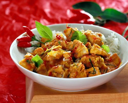 Thai Chicken Stir Fry with Basil and Chilli