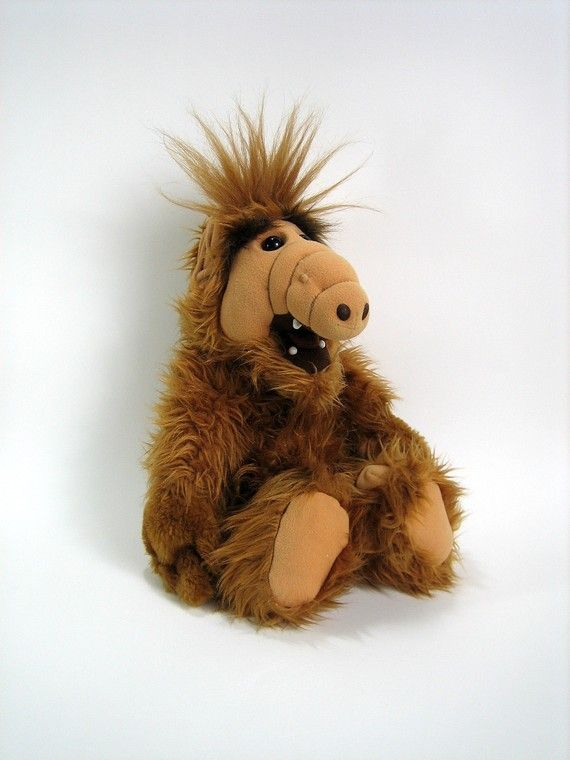 Who could forget my weird but cute little ALF doll...