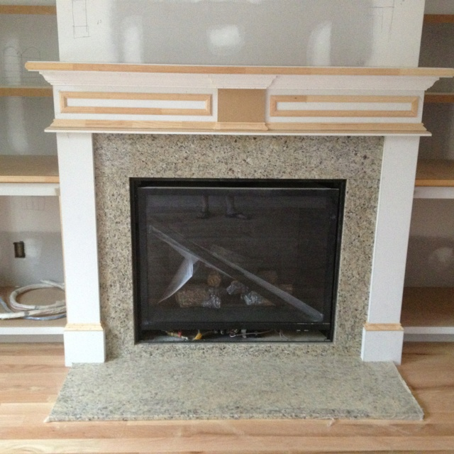 Granite Around The Fireplace Our New House Pinterest