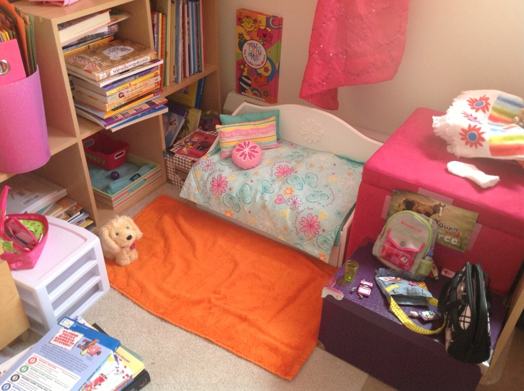 This is my american girl doll room basement ideas pinterest - American girl bedroom ideas ...