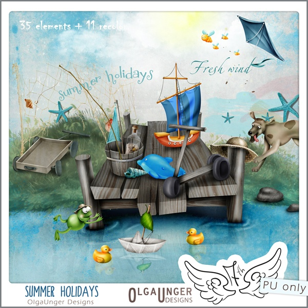 Summer holidays | Scrapbooking & Cards Ideas | Pinterest: pinterest.com/pin/58335757645039244