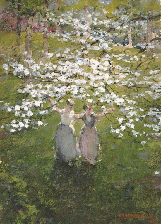 blossoms, william henry holmes, 1927