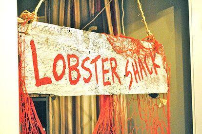 jaala | Rentals Lobster Shack Decorations Denver 40th Birthday Party