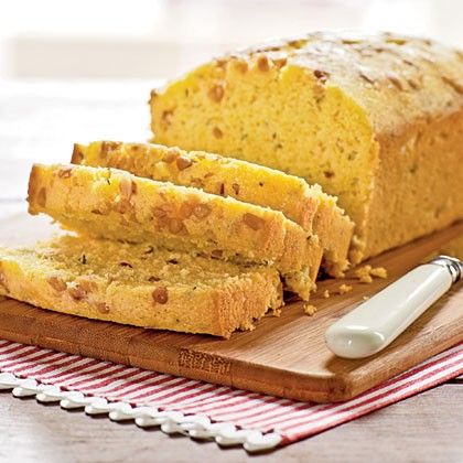 Lemon-thyme cornmeal quick bread from Cooking Light Magazine, June ...