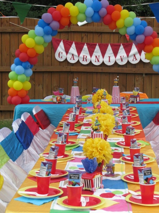 Carnival party decorations - Carnival theme decoration ideas ...