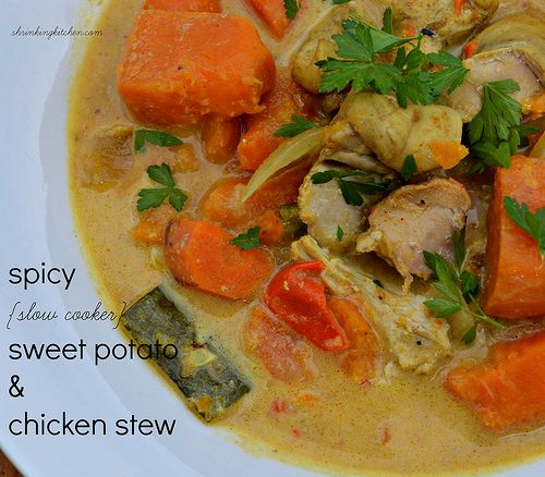 sweet potato stew with coconut milk spicy oven roasted potatoes sweet ...