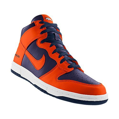 broncos shoes i designed at nikeid