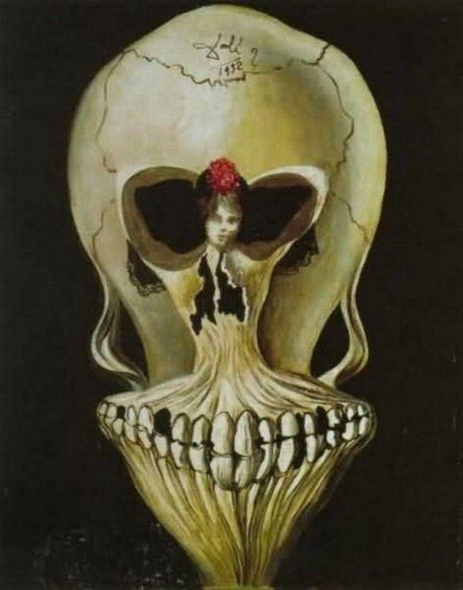 Illusion art by Salvador Dali | ART: odd illusion art ...