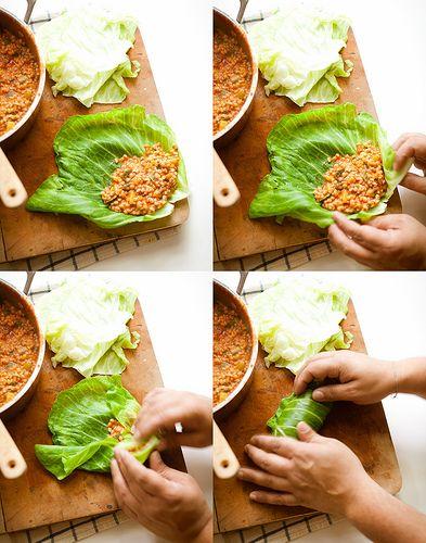 vegetarian cabbage rolls | Arts and crafts | Pinterest