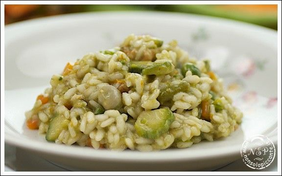 Risotto primavera | WwW.NonSoloPiccante.it | Pinterest