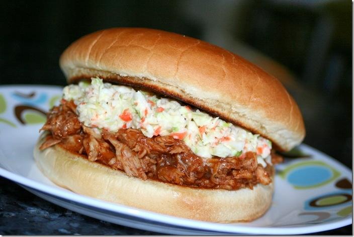 Pulled BBQ Chicken Sandwich | Rowena Sanchez | Pinterest