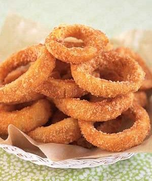 Barbecue Buttermilk Onion Rings | Yummy food! | Pinterest