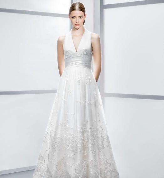 Andrea  Nuit Blanche Paris - Robes de mariée sur mesure
