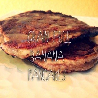 Easy Banana Pancakes:: 2 ripe bananas, mashed, 2 eggs, 2 T. coconut ...