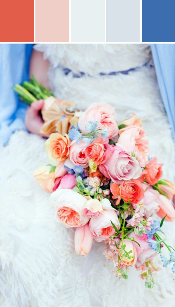 10 Palettes | Spring 2014 Wedding Colors