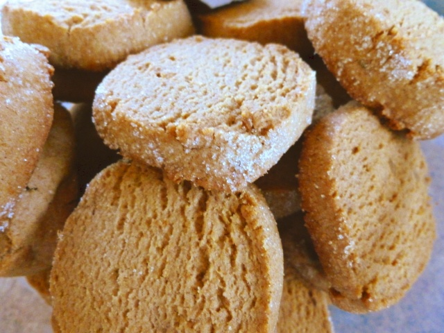Scrumptious Sugar-Crusted Ginger Cookies | Recipes | Pinterest