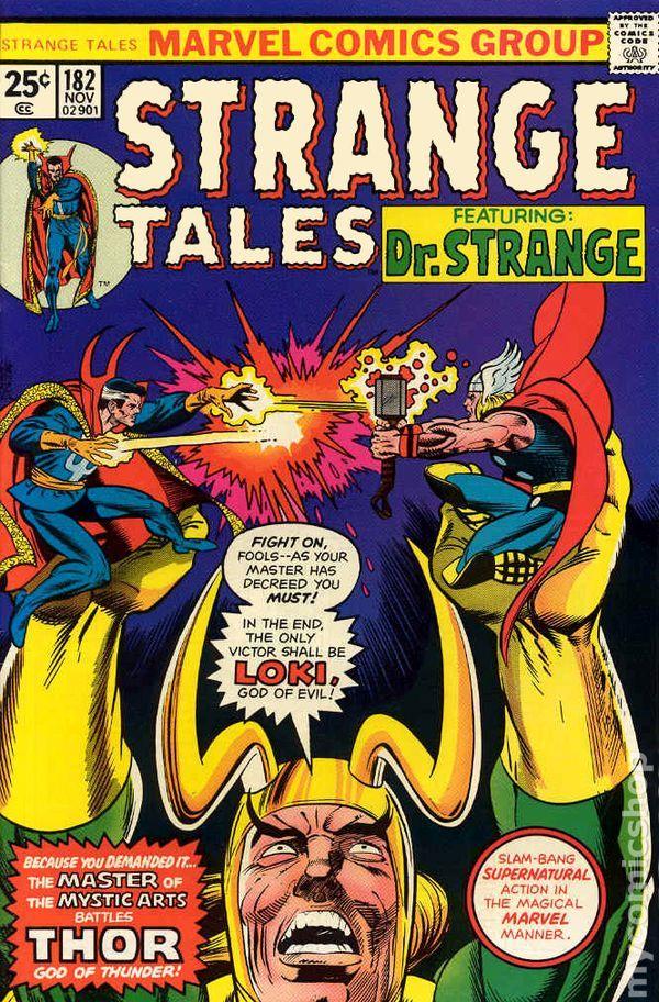 Strange Tales #182: Dr. Strange vs. Thor