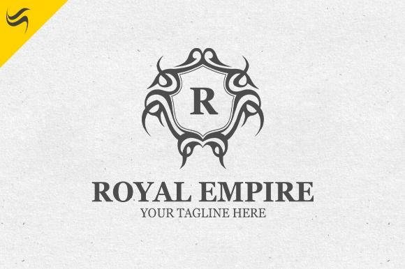 royal empire logo template. Black Bedroom Furniture Sets. Home Design Ideas