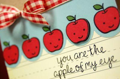 Mình có phải là quả táo của mắt nhau?