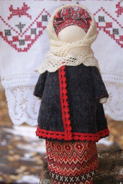 Как сделать куклу травница