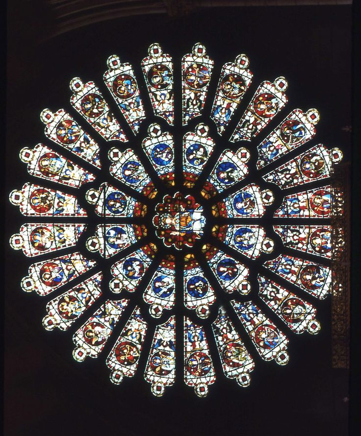 Rose Window Durham Cathedral Stained Glass Pinterest