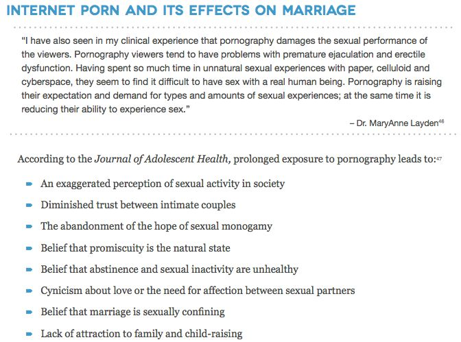 effects pornography marriage