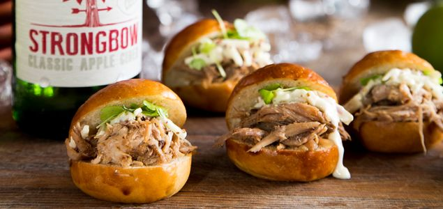 ... pulled pork - a treat in sliders with this apple slaw. AUTUMN WINTER