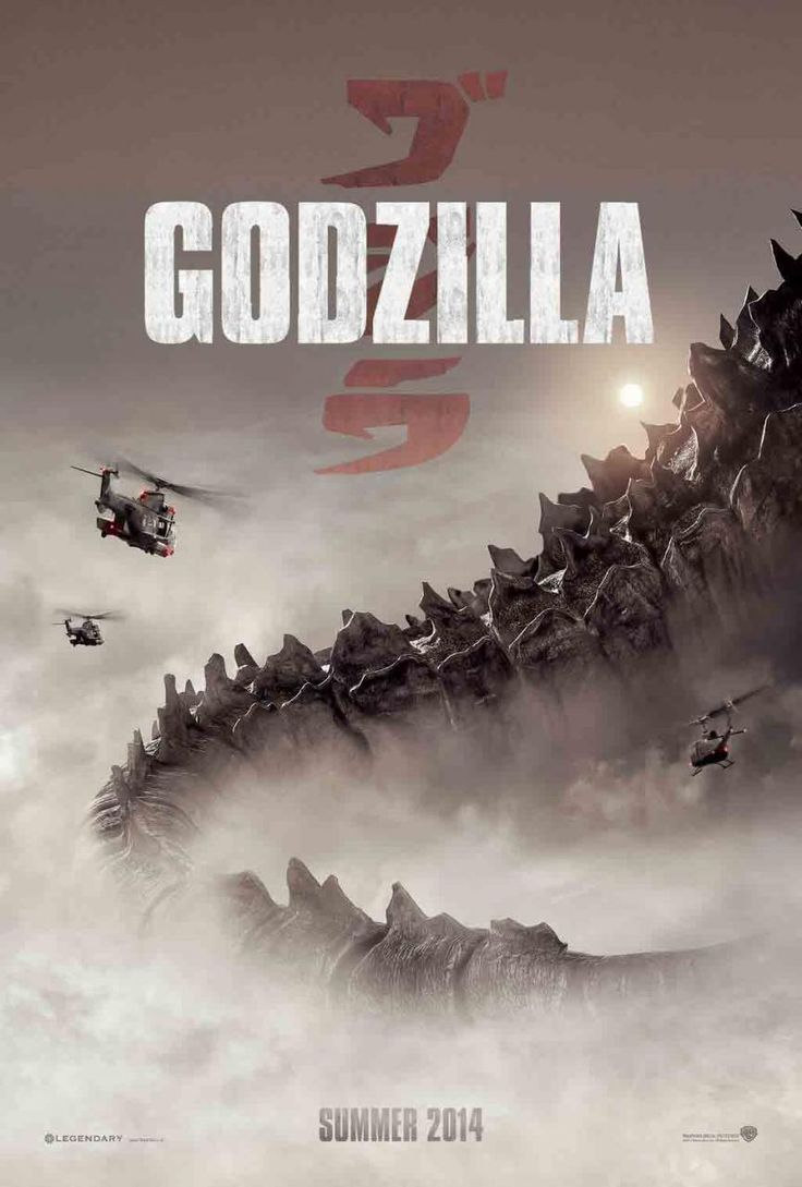 New Official Godzilla 2014 Teaser Poster!