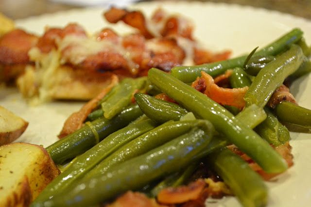 Bellapia Clothing Co.: Fresh Green Beans with Bacon
