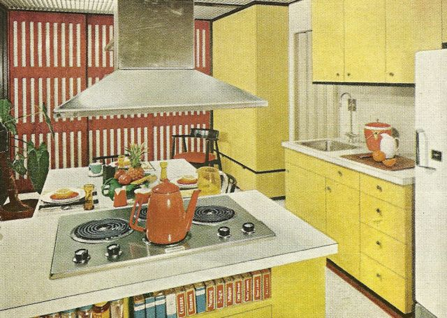 Vintage Kitchens 1960s Kitchens In Search Of The
