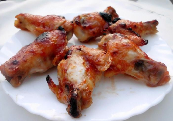 Spicy-Sweet Chicken Wings Recipes — Dishmaps