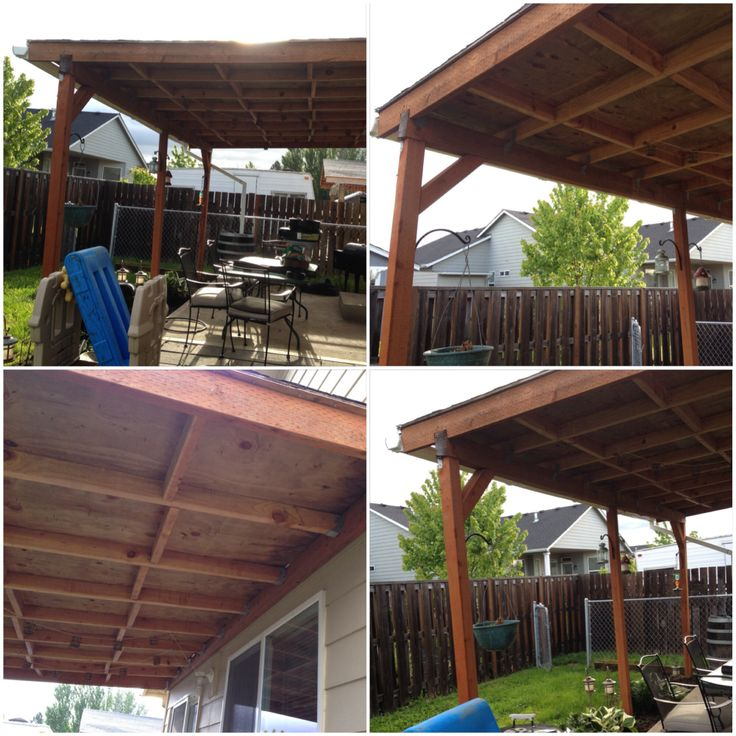 DIY Covered Patio For The Home Pinterest