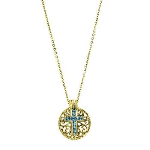 1928 Birthstone Cross Pendant Necklace -December Blue Topaz 1928, http://www.amazon.com/dp/B006570YDU/ref=cm_sw_r_pi_dp_RBsNqb12SWJAE