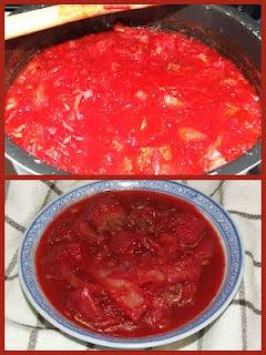 Ukrainian Red Borscht Soup...O Ukraine, I miss you sometimes