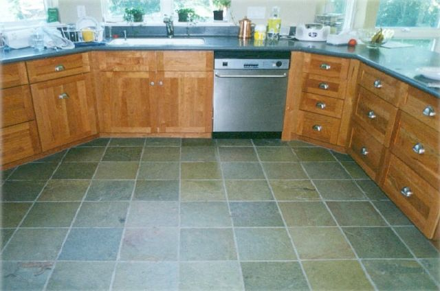 Slate Kitchen Floors