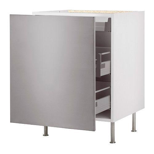 Hemnes Ikea Vitrinenschrank ~ FAKTUM Unterschrank mit Auszug IKEA Schubladen mit integrierten