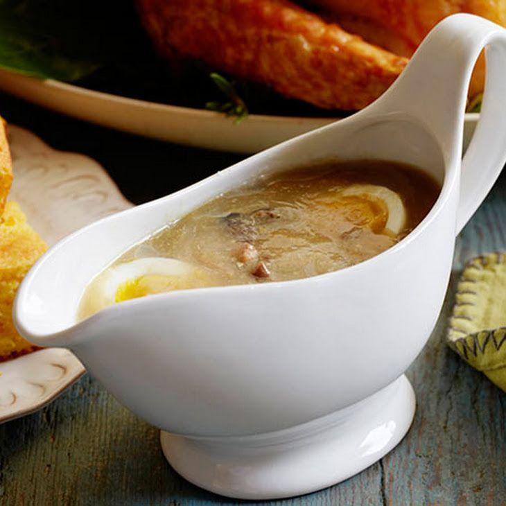 Giblet Gravy Recipe | Yummy Recipes | Pinterest