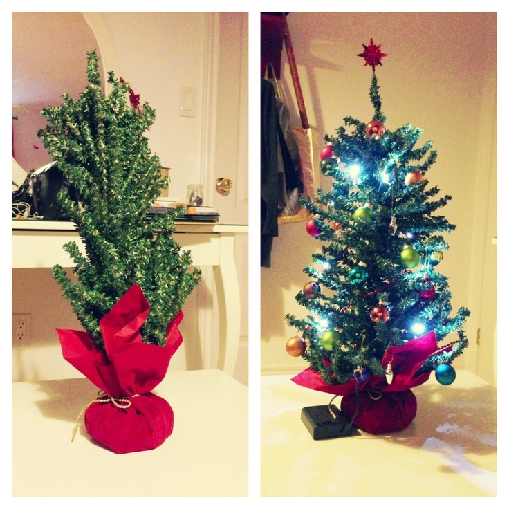 My mini christmas tree for Miniature christmas trees for crafts