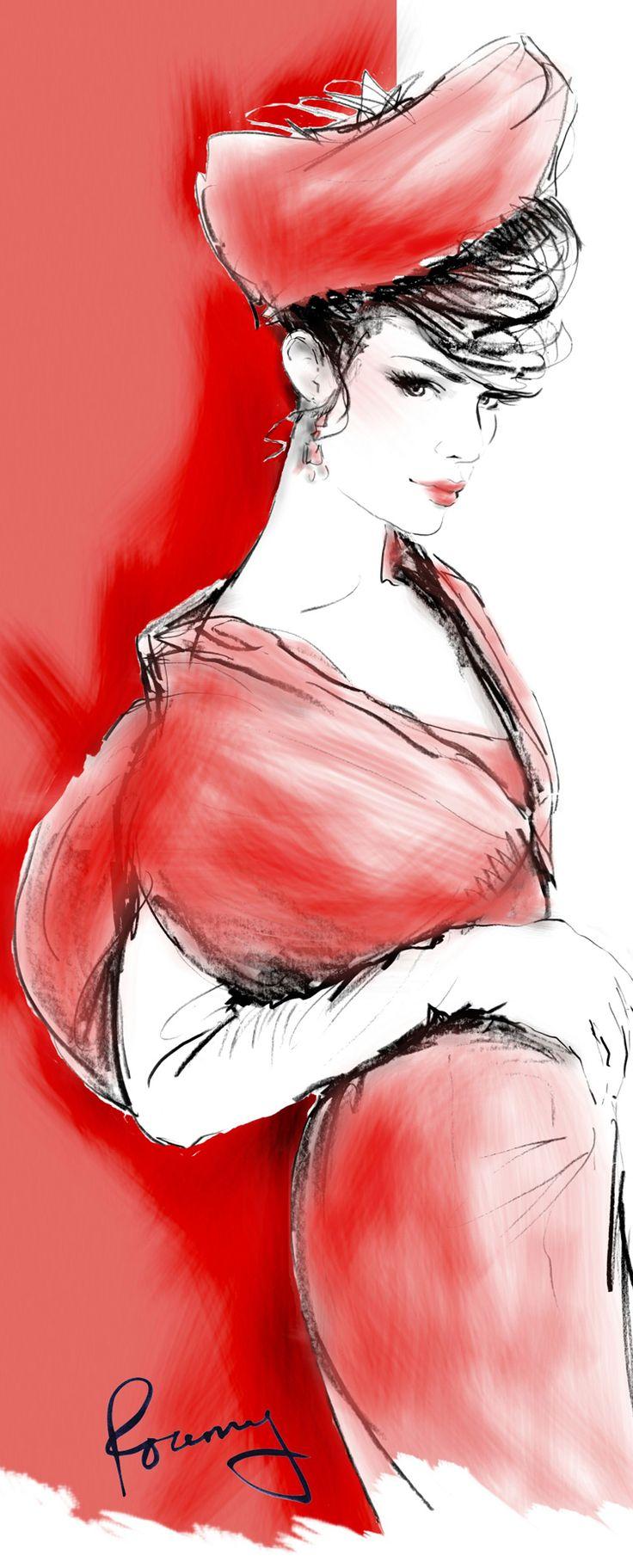Drawing fashion bill thames 25