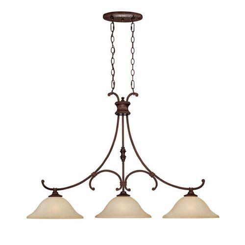 Kitchen Island Light Fixture in Bronze 500 x 500