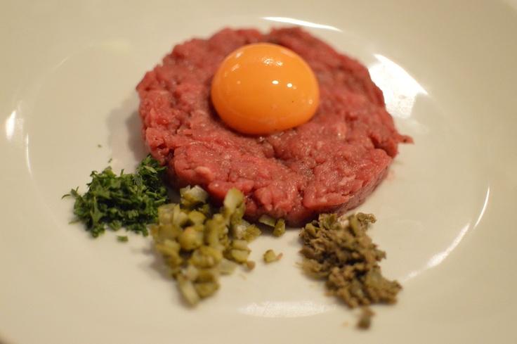 Steak Tartare | Bistro Bruno | Pinterest