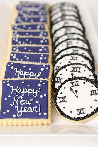 New Years Cookies #food