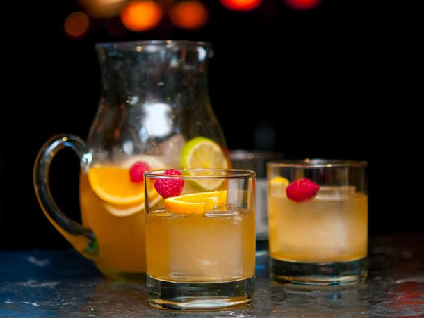 Midnight Cowboy's Fish House Punch | Recipe
