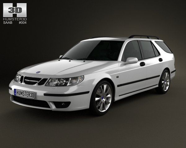 saab 95 aero wagon 2005 3d cars pinterest. Black Bedroom Furniture Sets. Home Design Ideas