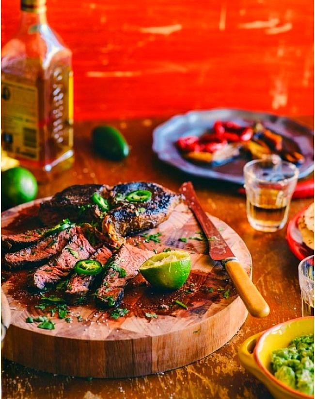 Tequila & Lime Marinated Steak | Food | Pinterest