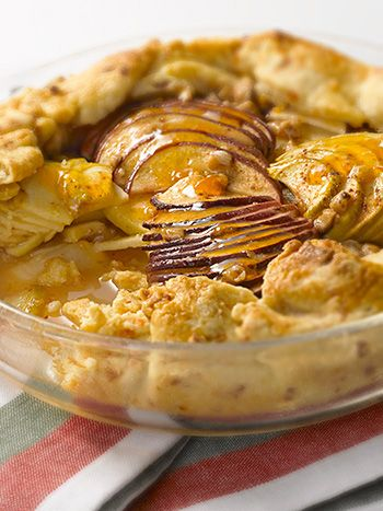 Apple Cheddar Crostata | apples | Pinterest