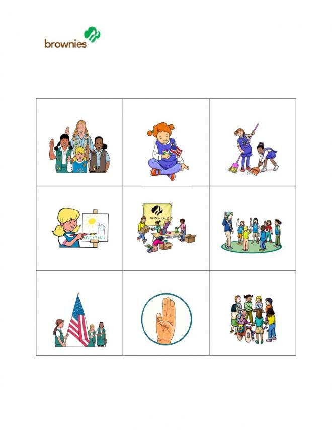 sample first four brownie girl scout meetings   page 10