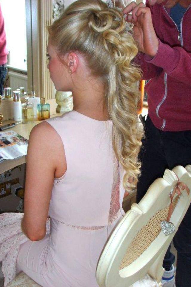 Wedding Hair - and i so regret cutting my hair!