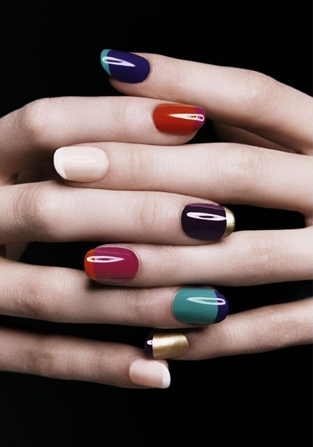 Classic & Trendy: French Manicure Ideas | My Style | Pinterest